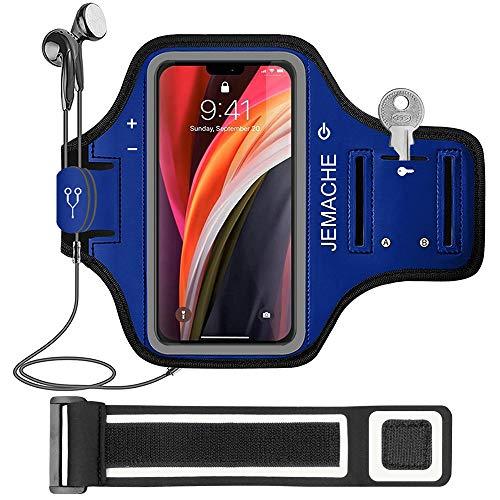 iPhone 13 mini, 12 mini Armband, JEMACHE Gym Hardlopen Workouts Arm Band Case voor iPhone 13 mini, 12 mini met…