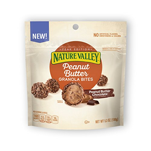 Nature Valley Peanut Butter Chocolate Granola Bites, (Pack of 6)