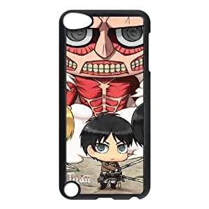 Attack On Titan Clouds iPod Touch 5 Case Black DIY TOY xxy002_911478