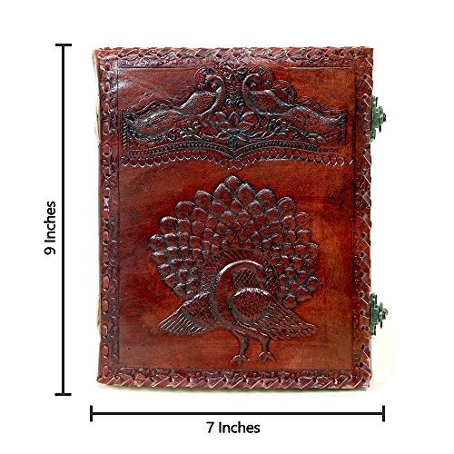 - Imperial Vintage Leather Handmade Journal (9 x 7