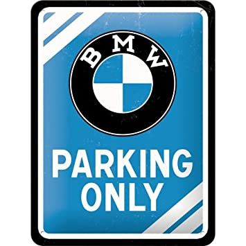 Amazon.com: BMW Parking Only metal Sign: Automotive