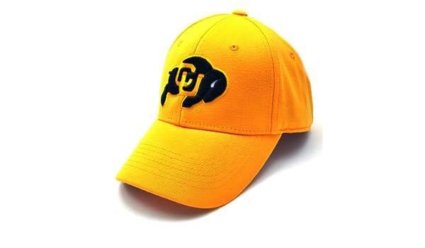 a6dfb0cb480 Amazon.com   NCAA Colorado Buffaloes Premium Collection One Fit Cap ...