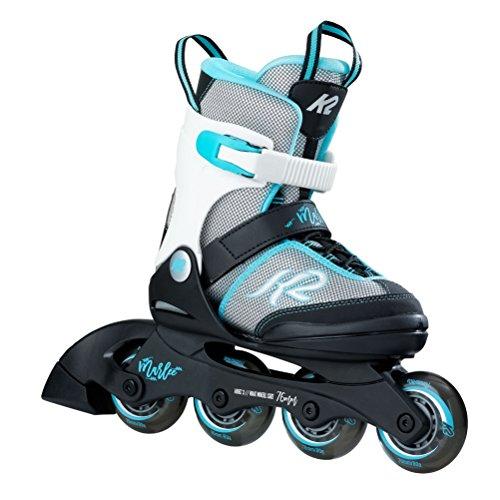 K2 Skate Marlee Inline Skates, Silver Blue, Size (1-5)