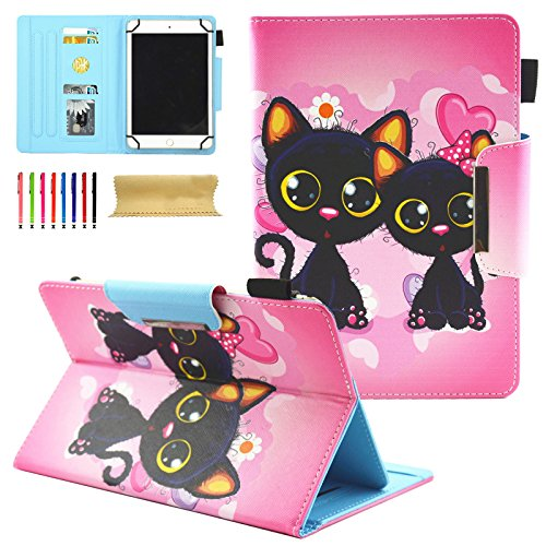 Universal Case for All 9-10 Inch Tablet, Coopts PU Leather Magnetic...