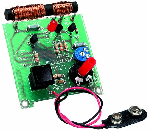Velleman K7102 Metal ferroso multidetector digital - Multidetectores digitales (56 mm, 64 mm): Amazon.es: Bricolaje y herramientas