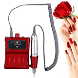 30000 RPM Nail File Drill Machine, Portable Rechargeable Grinding Polishing ...