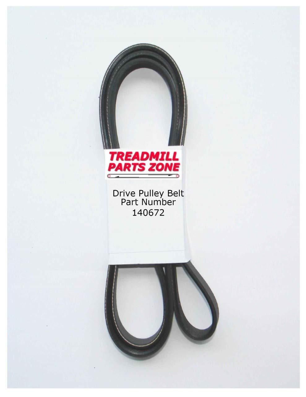TreadmillPartsZone Replacement for Elliptical Drive Belt Part Number 140672