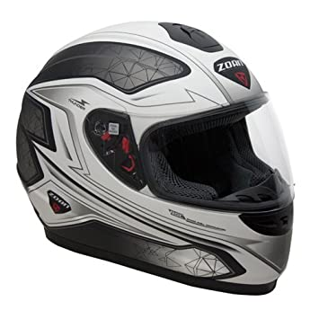 Zoan Thunder Electra Negro Mate blanco eléctrico lente nieve ridinh casco jóvenes grandes