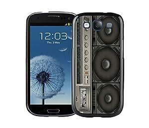 BINGO discount Boombox Samsung Galaxy S3 i9300 Case Black Cover 1