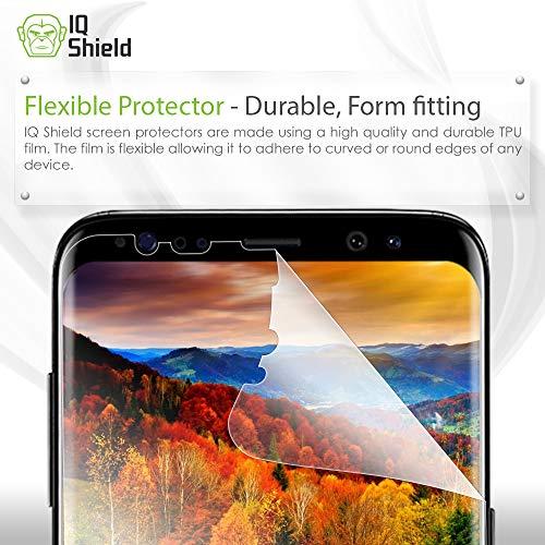 Galaxy S8 Screen Protector, IQ Shield LiQuidSkin Full
