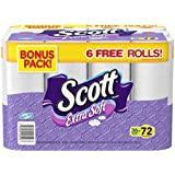 Scott, Extra Soft Double Roll Unscented Bathroom Tissue, 264 sheets, 30 rolls