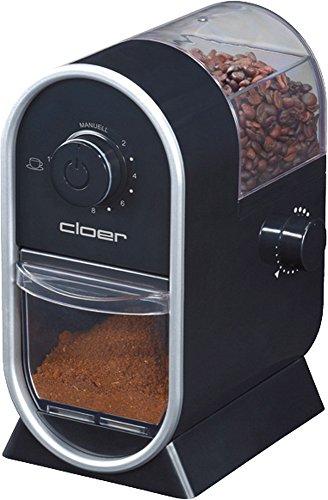 Clör Kaffeemuehle Scheibenmahlwerk Schwarz, 150 G