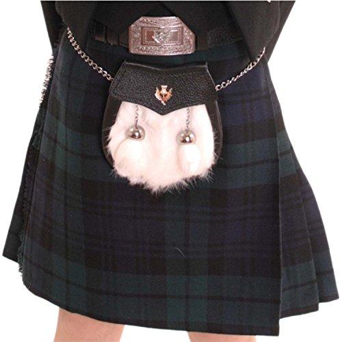 Kilt Society Boys Black Watch Tartan Scottish Highland Kilt 11-12 Years ()