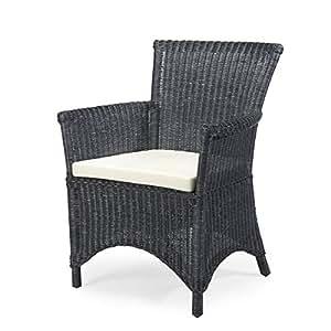 Rotin Design REBAJAS : -27% Sillon de comedor - sillon negro ...