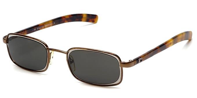 41ae524abe0a3 Amazon.com  Gucci 1615 S 67D in Bronze Tortoise Designer Sunglasses ...