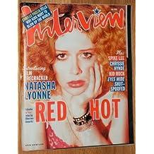 Interview Magazine - July 1999: Natasha Lyonne, Chrissie Hynde + (Single Issue Magazine)