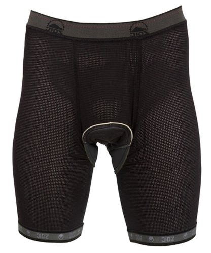 Zoic Men's Essential Liner Shorts, Black,