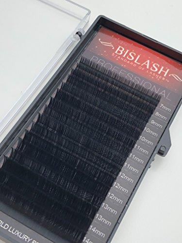 Eyelash Extensions D curl 0.15mm/7-15mm, Mix Tray,Individual Classic Eyelash Extensions