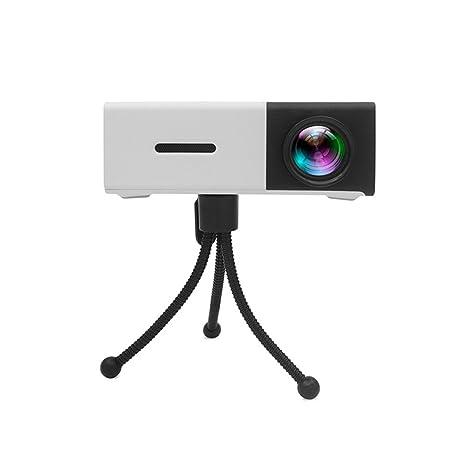 CPDZ Proyector de Cine en casa Inteligente LED hogar Pico ...