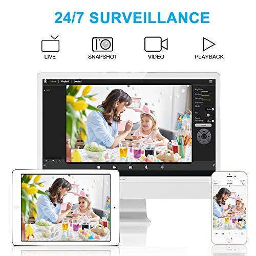 1080P-WiFi-Home-Security-IP-Camera-Smart-Wireless-Indoor-Surveillance-Camera-System-for-Pet-Baby-Nanny-Monitor-with-Audio-Motion-Detection-Night-Vision-Remote-Control