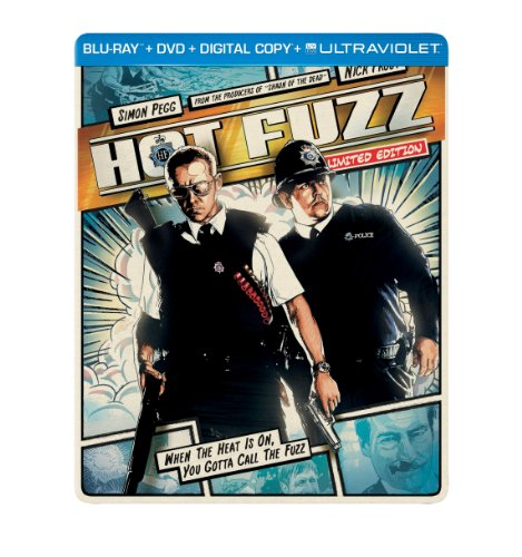 Hot Fuzz Limited Edition Blu-ray Steelbook