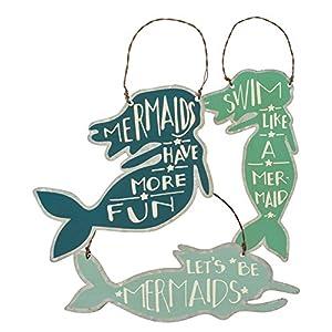 51SqgjIAHQL._SS300_ 100+ Mermaid Christmas Ornaments