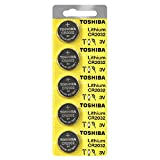 Toshiba CR2032 3 Volt Lithium Coin Battery (50 Batteries)