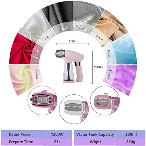 ZHB Steam iron, Portable Electric Clothes Steamer Handheld Garment Steamer Iron For Home Appliances Suitable For Ironing Clothes.Etc