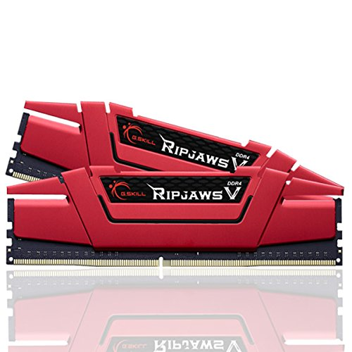 G.Skill Ripjaws V Series 16GB (2 x 8GB) 288-Pin DDR4 2400 (PC4 19200) Intel Z170/X99 Desktop Memory F4-2400C15D-16GVR ()