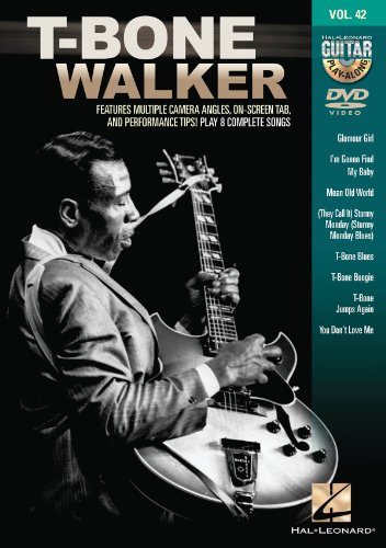 T-Bone Walker Guitar Play-Along DVD Volume 42 from Hal Leonard