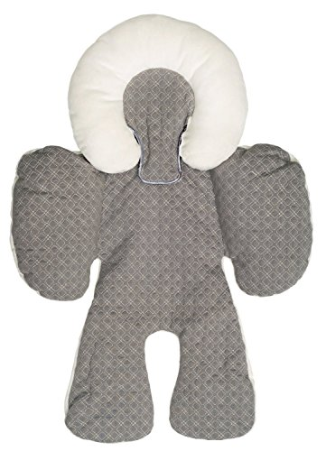 Baby Strollers Body Support Pad Car Seat Cushion (Grey) - 9