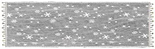 product image for Heritage Lace Wind Chill 14-Inch by 60-Inch Table Runner, White