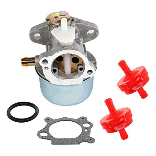 123 Model - USPEEDA Carburetor & Fuel Filter for Briggs & Stratton 121 122 123 125 Model