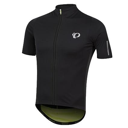 Amazon.com  Pearl iZUMi Pro Pursuit Wind Jersey  Black Screaming Yellow   Size  Medium  Sports   Outdoors 17c2965d9