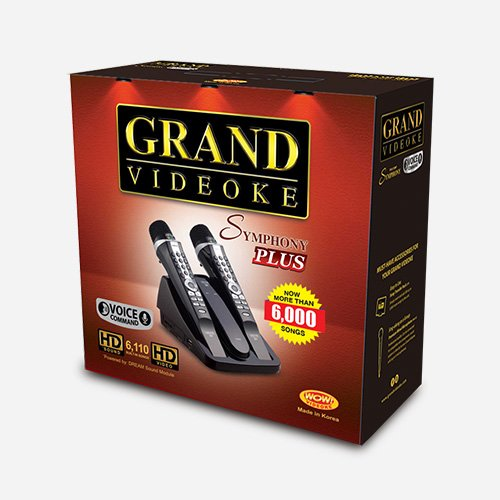 grand videoke symphony 2.0 plus the box