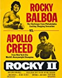 Rocky Ii 8x10 HD Aluminum Wall Art Rocky Balboa Apollo Creed Poster Art