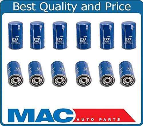 12/100% New Oil Filter for Dodge Ram 2500 5.9L 6.7L Turbo Diesel 12 Pack New