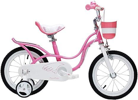 Ppy778 Bicicleta para niños 12,14,16 Pulgadas Bicicleta Rosa ...