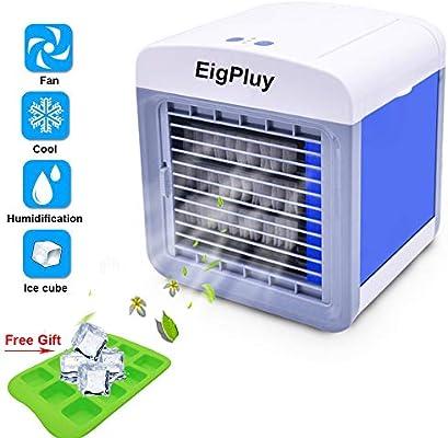 RICARICA USB Mini Ventilatore Portatile Climatizzazione Casa Frigo Ventola di raffreddamento