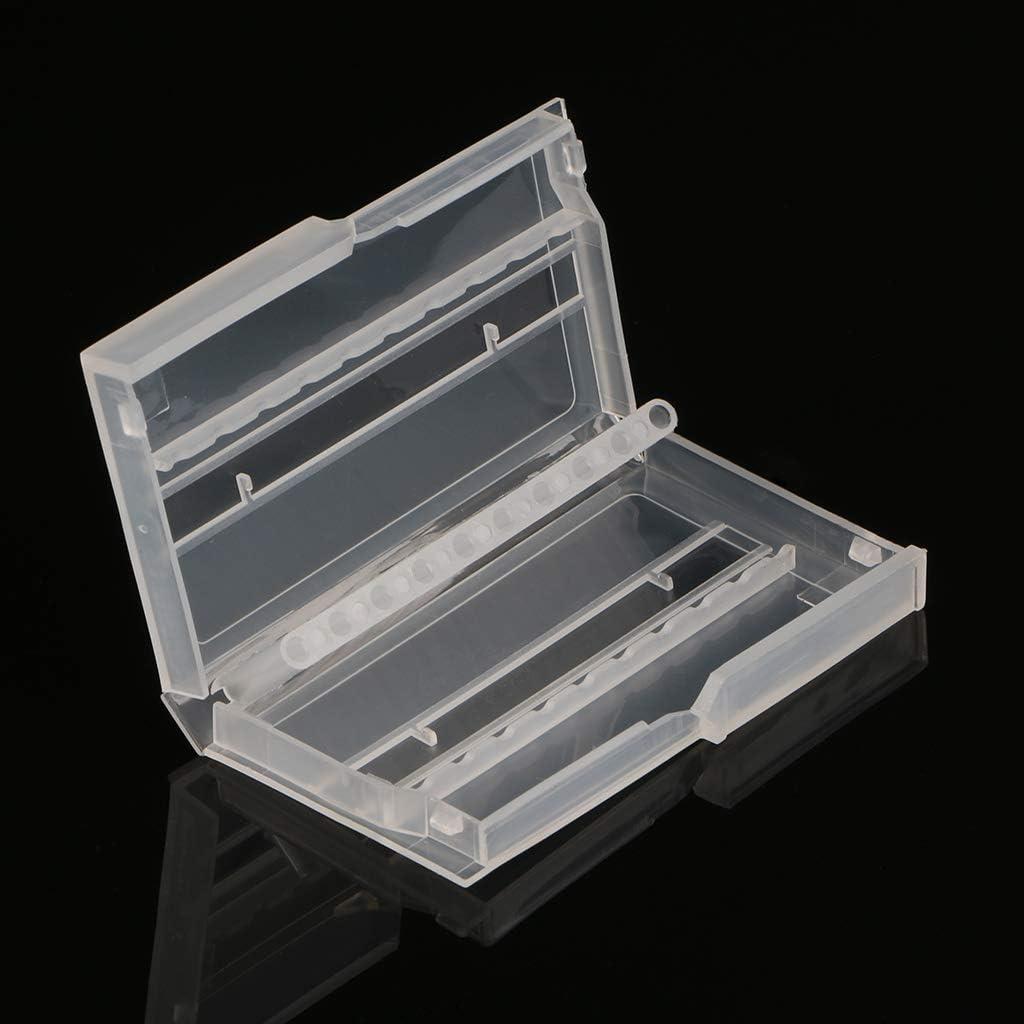 FangWWW - Caja de plástico vacía para 10 agujeros de taladro de uñas: Amazon.es: Bricolaje y herramientas
