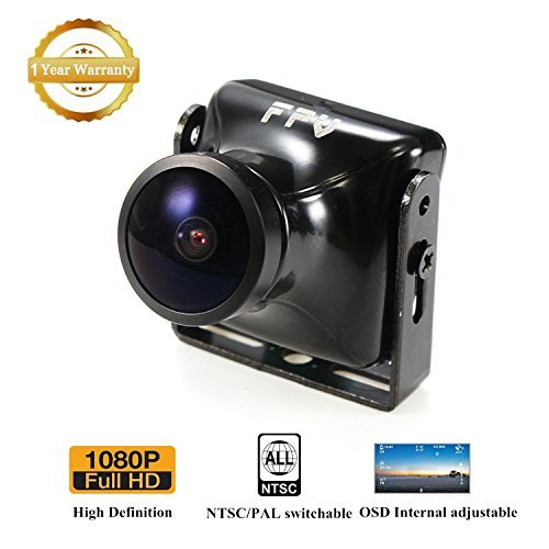FPV Camera JJA-960H HD Cam 2.5mm Lens 120 Degree with OSD NTSC PAL for Multicopter Quadcopter by Crazepony