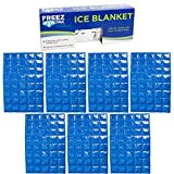 Lifoam 15' x 19.5' Gel Flexible Ice Packs for Coolers Reusable Ice Pack for Lunch Box Freezer Pack Mats