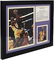 """Legends Never Die Colagem de fotos emoldurada""""Kobe Bryant Gold Jersey"""""""