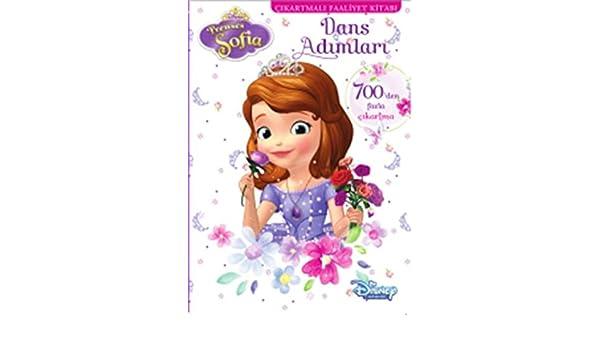 Disney Prenses Sofia Dans Adimlari Cikartmali Faaliyet Kitabi