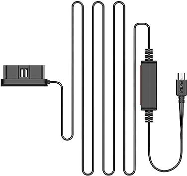 40V 10ft OBD Charging Cable Mini USB Power Cable Kit with Low Voltage Protection for Vantrue N2 Pro// N2// X3// T2// N1 Pro// X1// X1 Pro// R3// N3 Dash Cams GPS Navigation Vantrue 11.4V Radar Detector