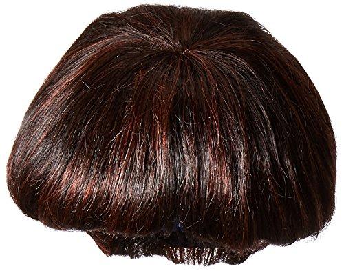 Vivica A. Fox H302-V Premium Human Hair, PS Cap Wig in Color FS1B33