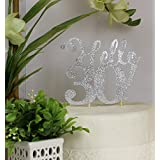 All About Details Silver Hello 30! Cake Topper