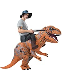 t rex riding costume adult inflatable dinosaur costume for halloweenchristmas party halloween costums