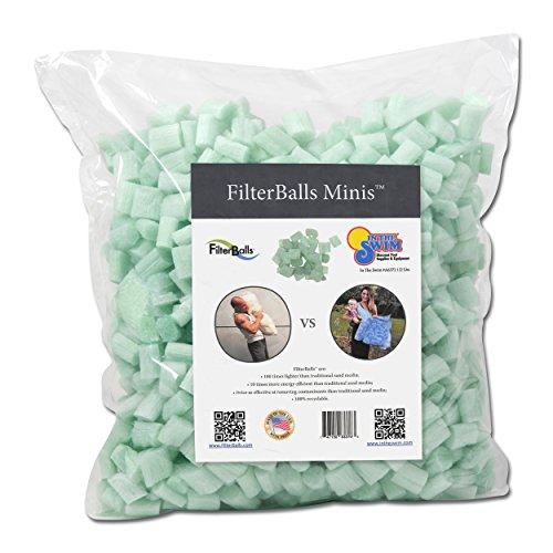 In The Swim Filterballs Mini Advanced Replacement Sand Pool Filter Media - 1/2 Pound