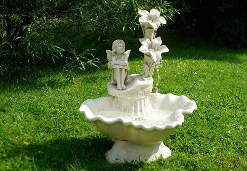 Nexos Trading - Pozo decorativo para jardín, diseño con elfos: Amazon.es: Jardín